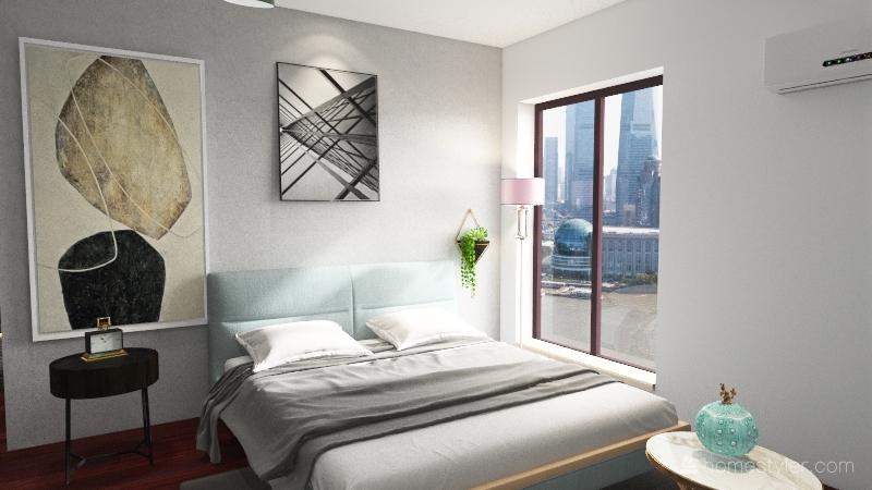 master bedroom 1 Interior Design Render