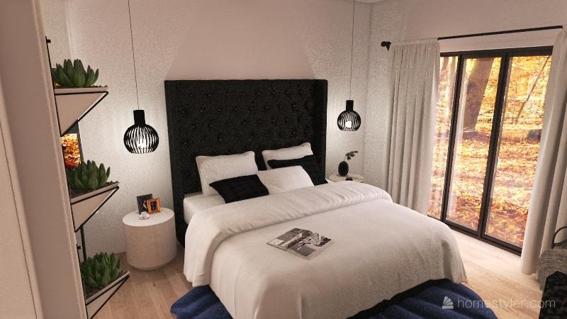 bedroom OBrien Interior Design Render
