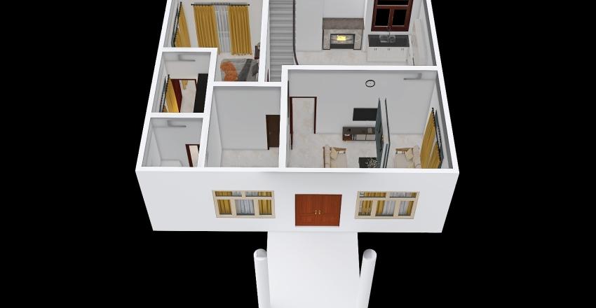 Emi & Temjen Khor Interior Design Render