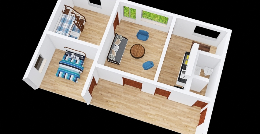Mojzir pudoryz Interior Design Render