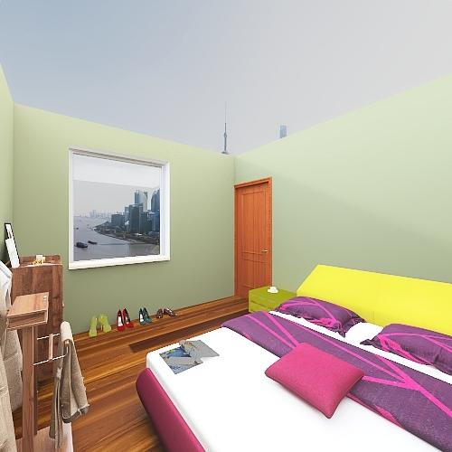 casa francesco Interior Design Render