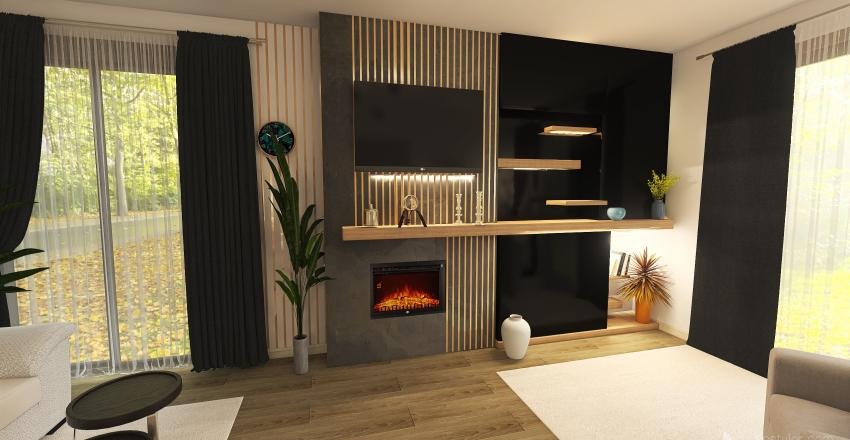 LIVING OVIDIU & ROXANA Interior Design Render