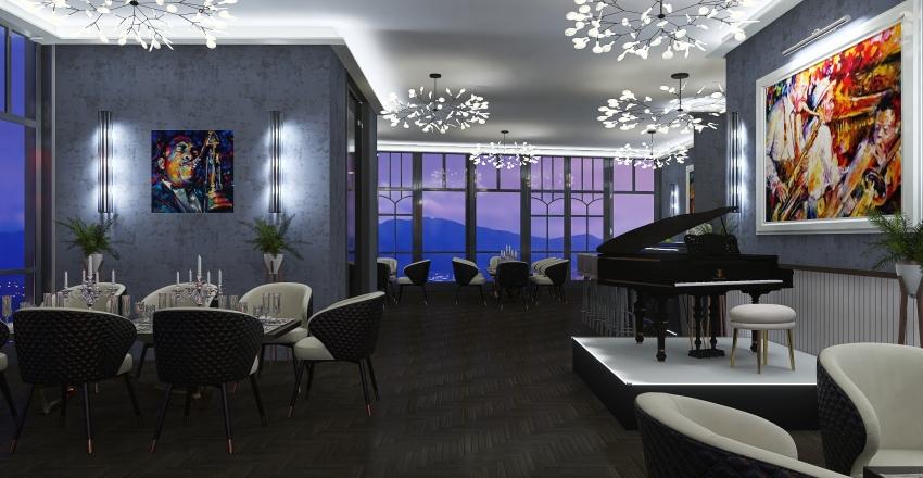 #HSDA - Commercial - Le Fanfaron - second floor Interior Design Render