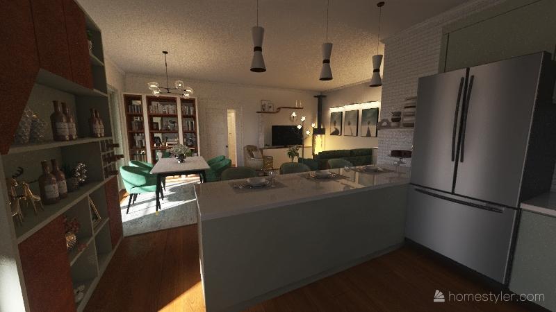 Numero 6 Interior Design Render