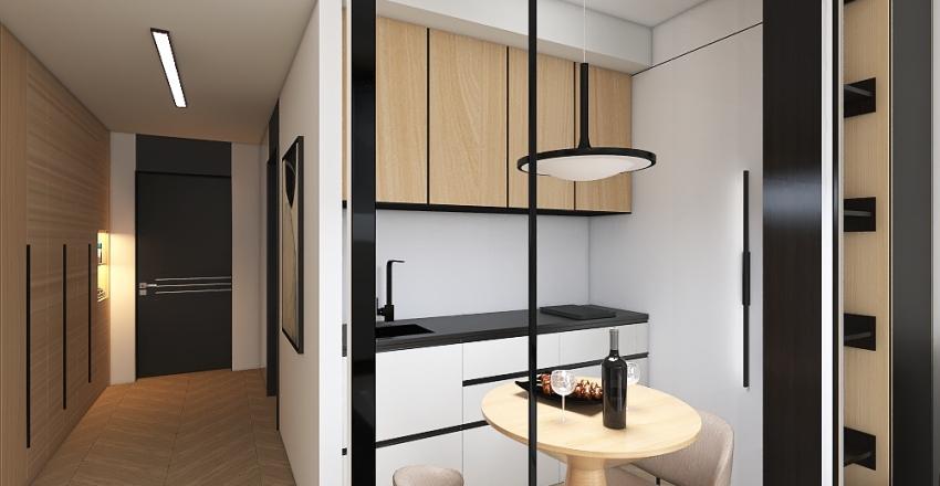 loft apartments Interior Design Render