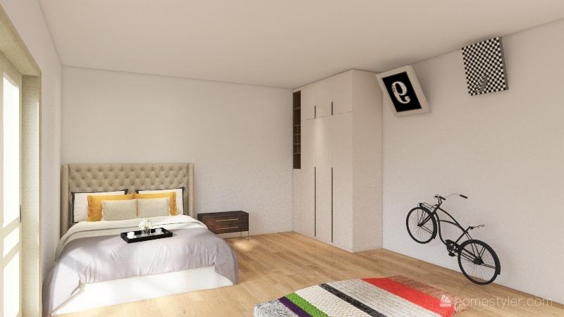 bedroom_copy Interior Design Render