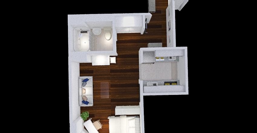 Andrea's studio 2 Interior Design Render
