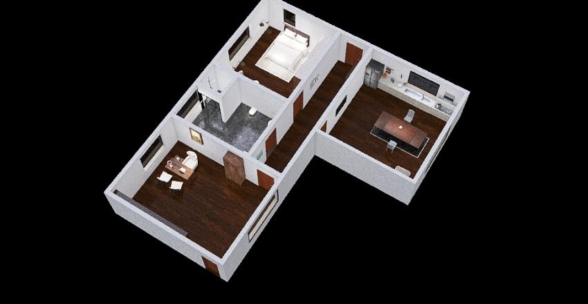 progetto tecnica Interior Design Render