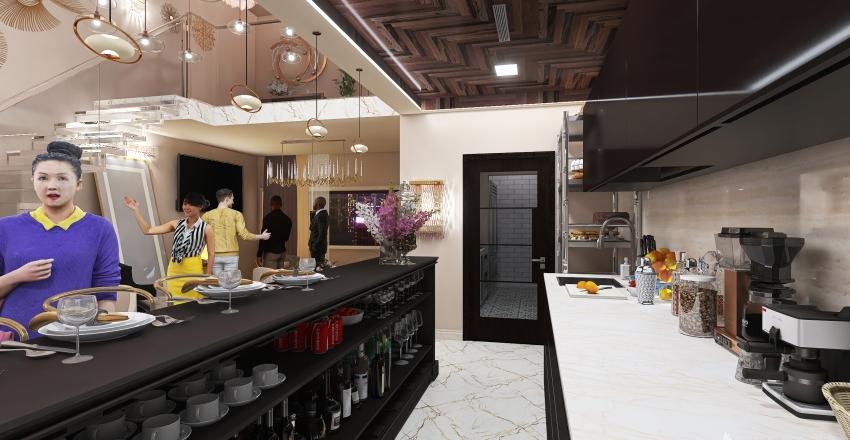 Happy Hour Interior Design Render