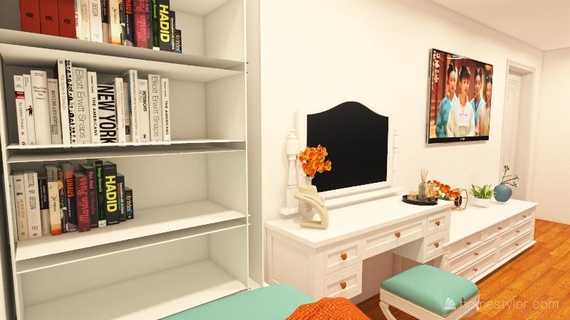 Project Bedroom Interior Design Render