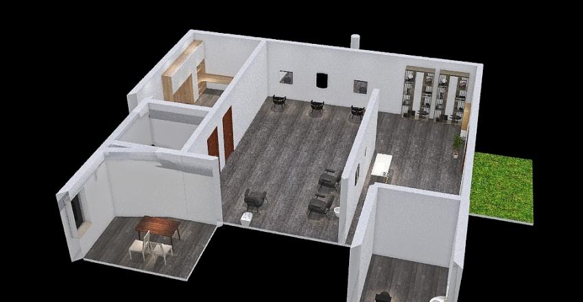 Salon designs Interior Design Render