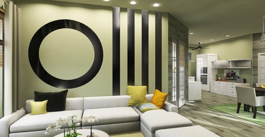 M-4 Home Bahria Town Interior Design Render