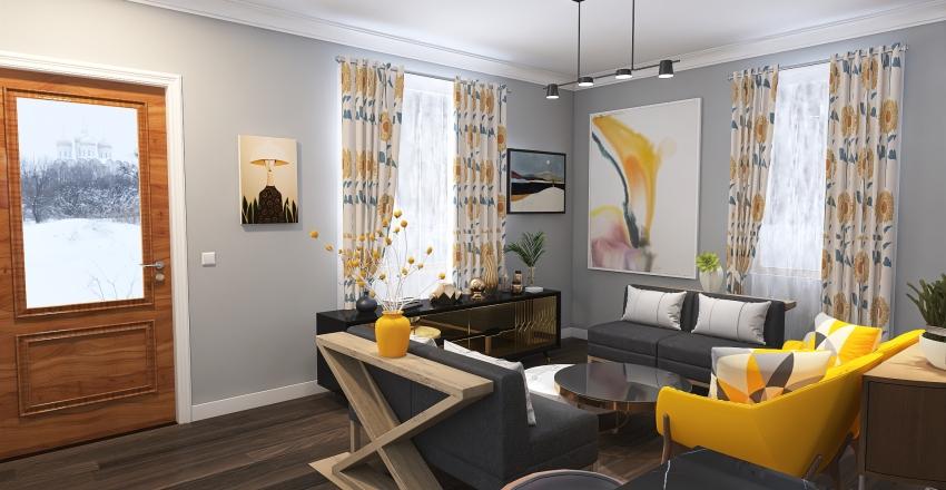 Kittyhawk Redesign Interior Design Render