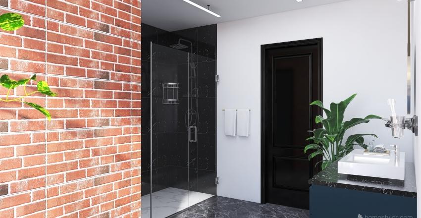 Dream Bathroom - Sydney Chan Interior Design Render