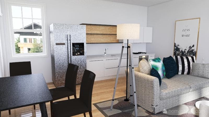 First time parnets Interior Design Render