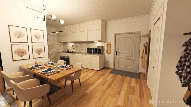 numero 5 Interior Design Render