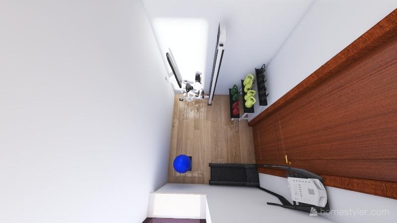 casa coppia giovane Interior Design Render
