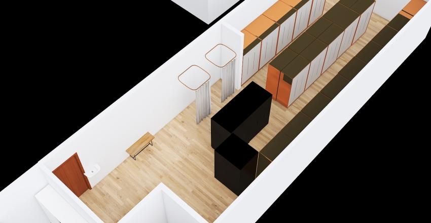 Vestiare var 1 Interior Design Render