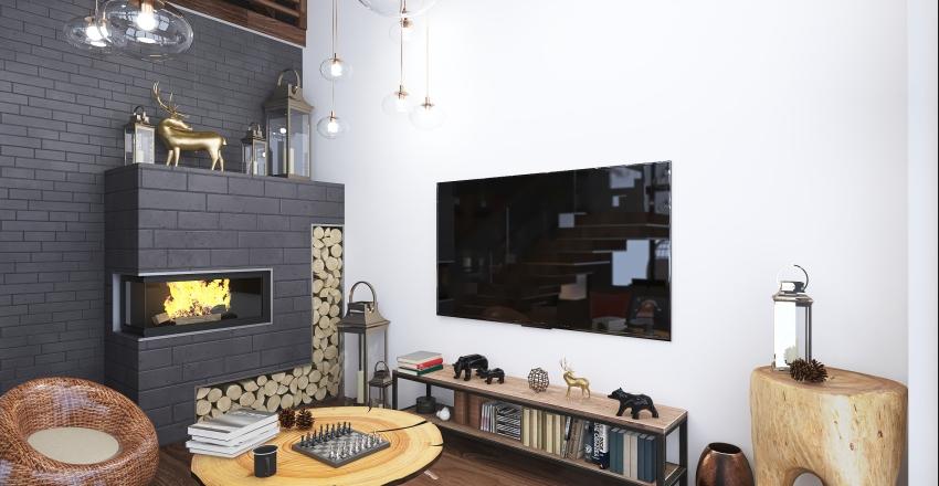 Winter retreat Interior Design Render
