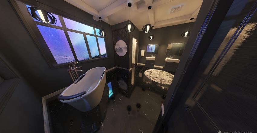 Master Dream bathroom Interior Design Render