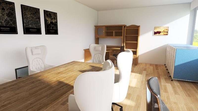 Dairy Office Interior Design Render