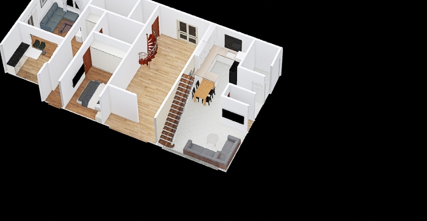 v2_Garaż Interior Design Render