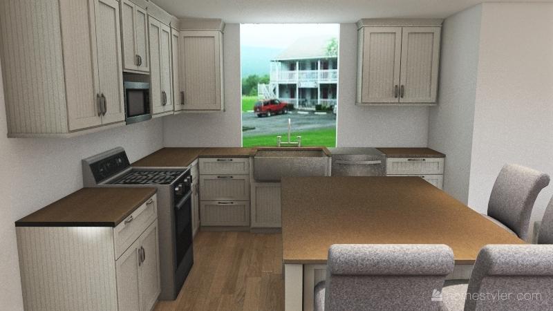Megan Kitchen Interior Design Render