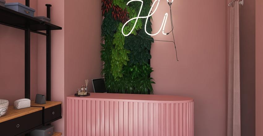 Boutique Rosa Interior Design Render