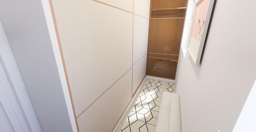 Suíte com Closet Interior Design Render