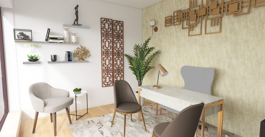 OFFICE REDESIGN Interior Design Render