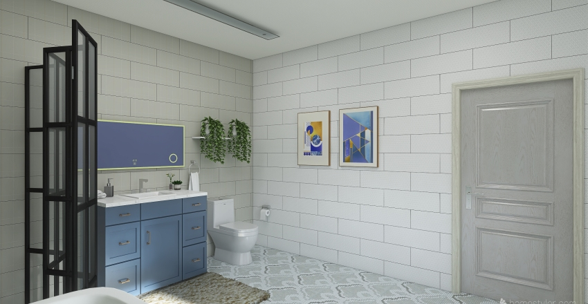 Mason Yang - Dream Bathroom Interior Design Render
