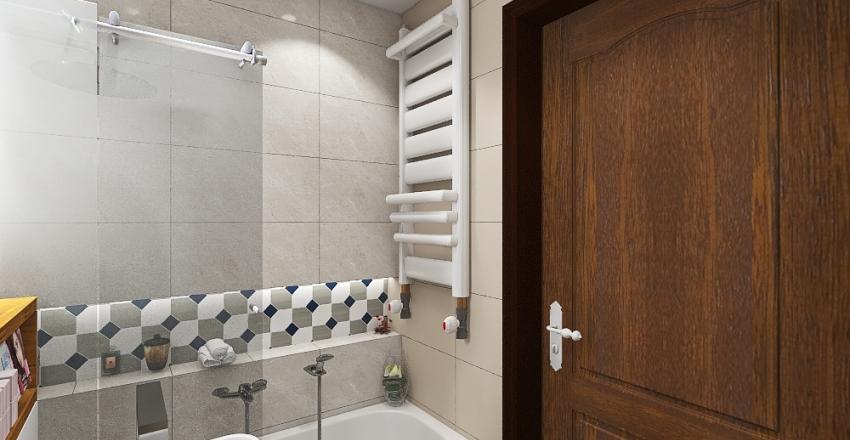 Łazienka 2 Interior Design Render