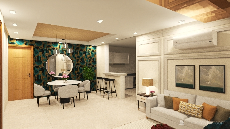 Melissa RR5 Interior Design Render