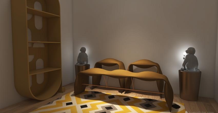Break-the-rules Interior Design Render