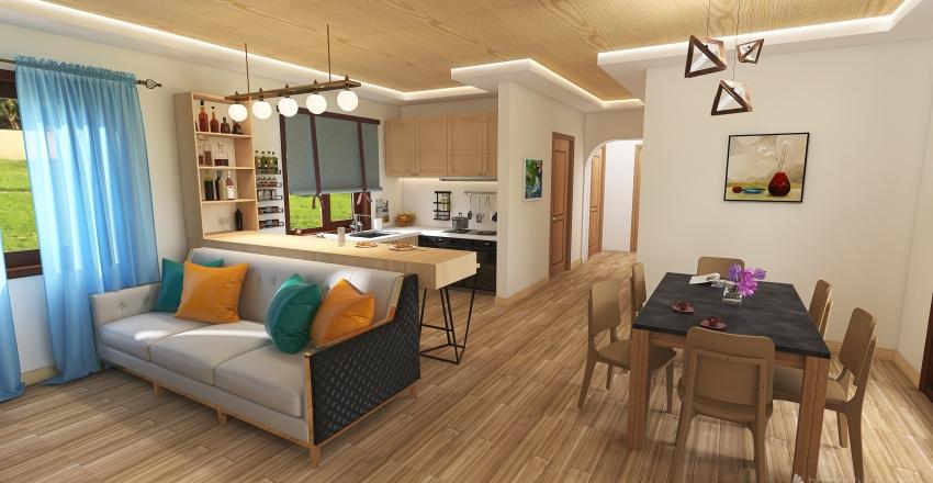 А022 Interior Design Render