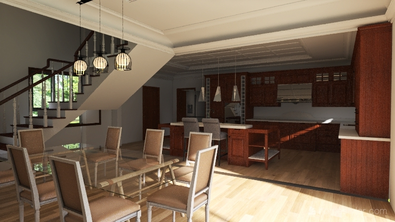 Copy of Casa Zuazua _V006 Interior Design Render