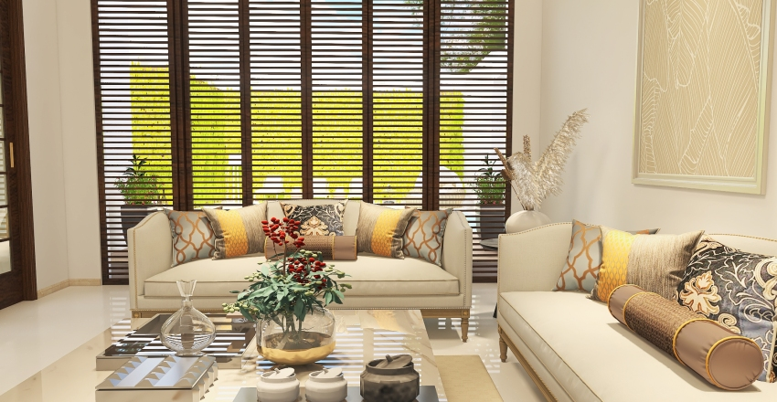 Sweet Home Interior Design Render
