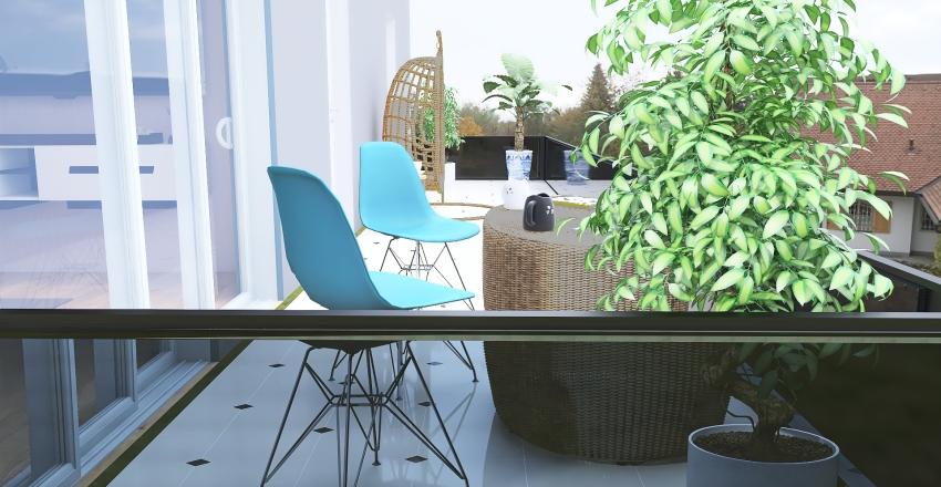 #HSDA2020Residential Small Suisse Apartment Interior Design Render
