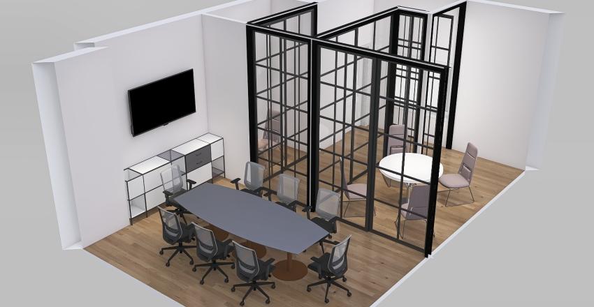 Zoom_conference Interior Design Render