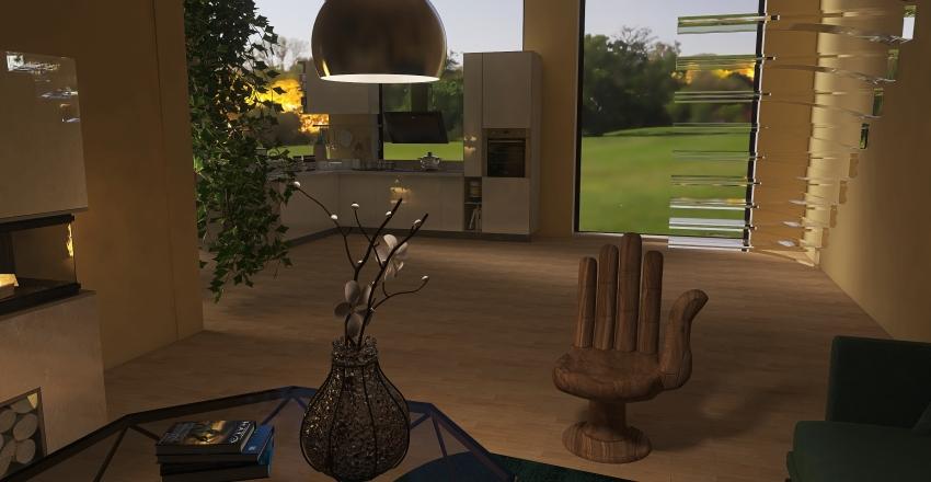 Village fancy house (no toilet tho) Interior Design Render