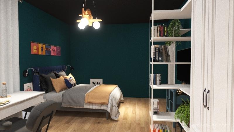 kid room Interior Design Render