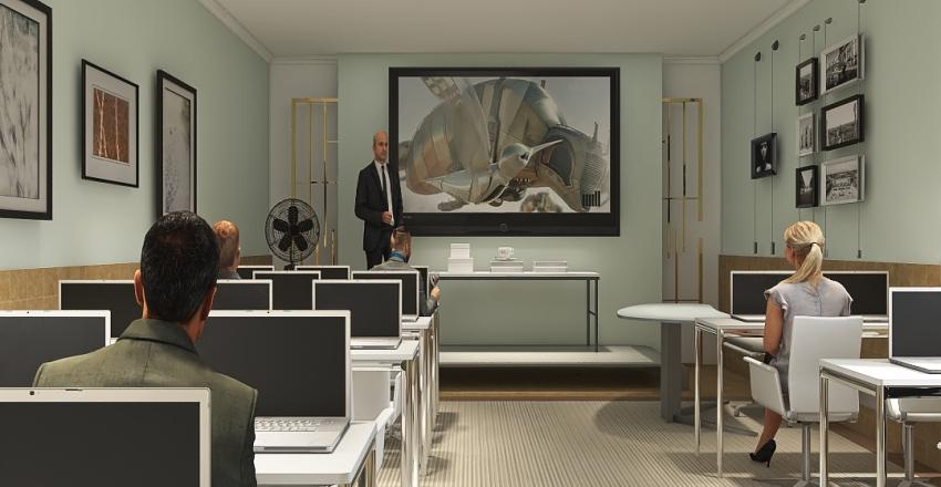 v2_dr center Interior Design Render