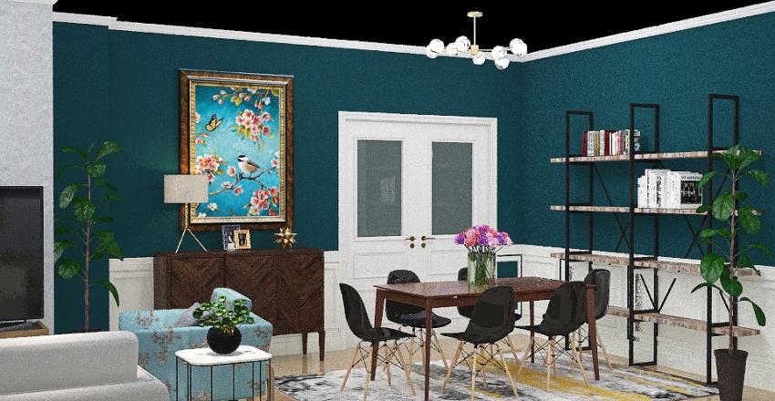 Living Annarita Interior Design Render