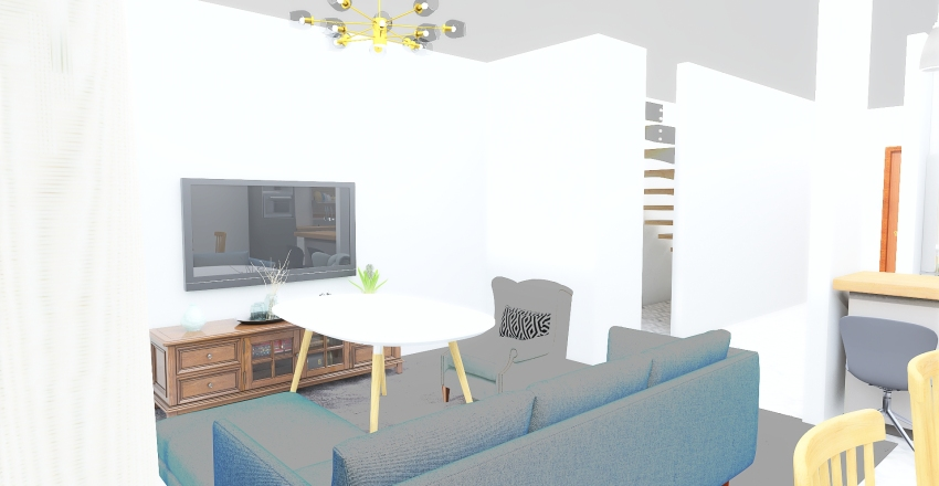 Copy of Osowiec parter Interior Design Render