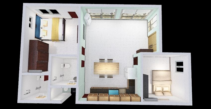 ㄷ자 부엌 201218 Interior Design Render