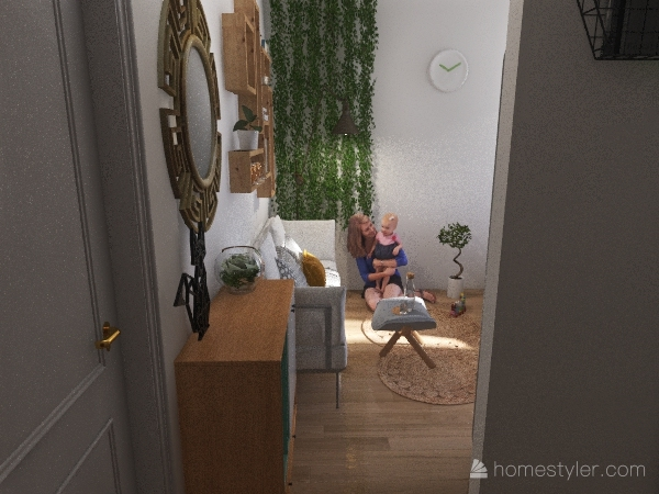 Little city home Interior Design Render