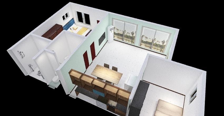 Floor Plan 210126-2 Interior Design Render