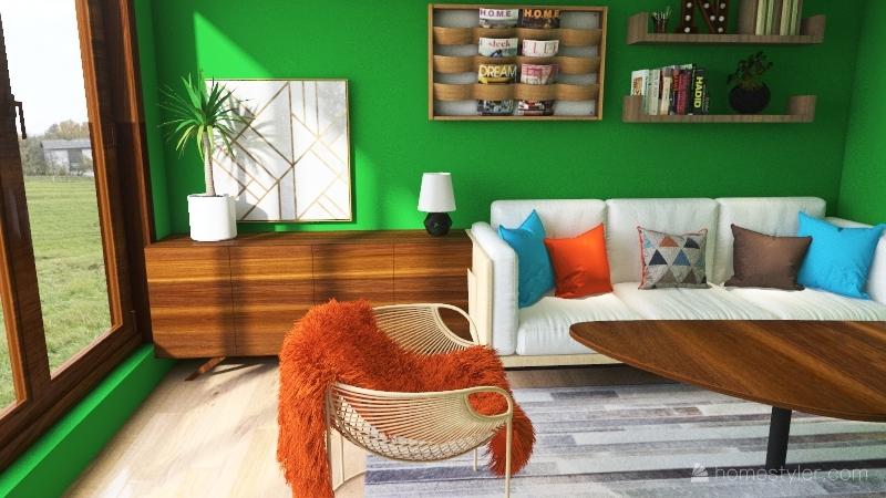magazeen Interior Design Render