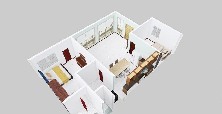 Floor Plan 210507 Interior Design Render