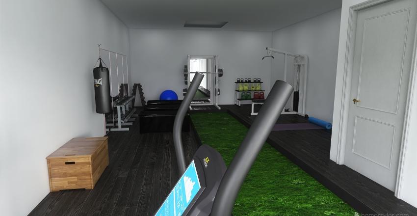 Zohri Sport & Health Interior Design Render